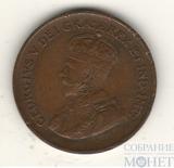 1 цент, 1933 г., Канада