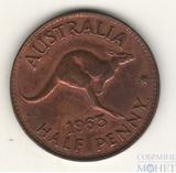 1/2 пенни, 1963 г., Австралия