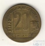 20 сентаво, 1947 г., Аргентина