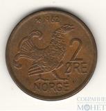 2 ере, 1962 г., Норвегия