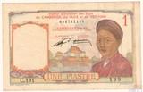 1 пиастр, 1946 г., Француский Индокитай Камбоджа Лаос Вьетнам