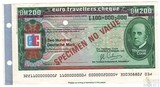 "Дорожный чек, 200 марок, Образец Банк ""Тринкаус и Буркхардт"" Германия, Томас Кук"