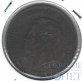 5 чентезимо, 1861 г., М, Италия, Виктор Эммануил II