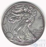 1 доллар, серебро, 2012 г., США