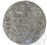 """1,5 грош, серебро, 1624 г.,""""Речь Посполитая, Сигизмунд III,""""Ваза"""""""", Польша"""