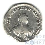 полуполтинник, серебро, 1747 г., ММД