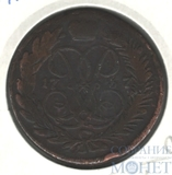 "2 копейки, 1757 г., гурт-""сетка"""