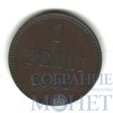 Монета для Финляндии: 1 пенни, 1883 г.