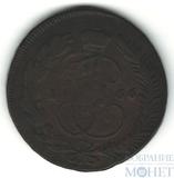 "5 копеек, 1766 г., ММ,""перечекан"""
