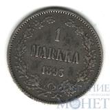 Монета для Финляндии: 1 марка, серебро, 1893 г.