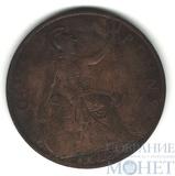 1 пенни, 1918 г., Великобритания, Георг V