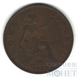 1 пенни, 1927 г., Великобритания, Георг V