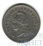 10 сентаво, 1938 г., Аргентина
