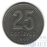 25 сентаво, 1993 г., Аргентина
