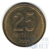 25 сентаво, 2009 г., Аргентина