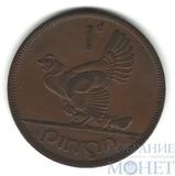 1 пенс, 1950 г., Ирландия