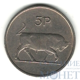 5 пенсов, 1969 г., Ирландия