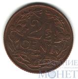 2 1/2 цента, 1956 г., Нидерландские Антиллы(Антильские острова)