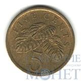 5 центов, 1986 г., Сингапур