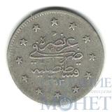 1 куруш, серебро, 1901 г., Турция