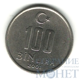 100000 лир, 2001 г., Турция