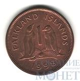 1 пенни, 1998 г., Фолкленские острова
