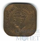 5 центов, 1942 г., Цейлон