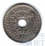 5 сентим, 1919 г., Тунис