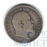 2 анна, серебро, 1904 г., Индия