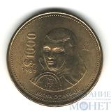 1000 песо, 1989 г., Мексика