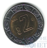 2 песо, 1998 г., Мексика