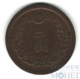 2 сен, 1880 г., Япония