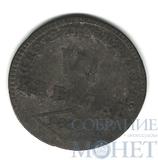 6 крейцеров, серебро, 1807 г., Вюртемберг, Фридрих II, как король Фридрих I 1806-1816 гг..(Германия)