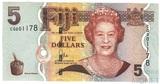 5 долларов, 2007 г., Фиджи