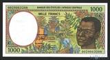1000 франков, 2000 г., Конго