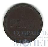 Монета для Финляндии: 1 пенни, 1902 г.