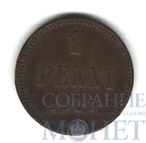 Монета для Финляндии: 1 пенни, 1907 г.