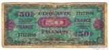 50 франков, 1944 г., Франция(оккупация союзниками)