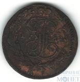 "5 копеек, 1764 г., ММ,""перечекан"""