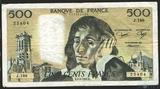 500 франков, 1982 г., Франция