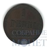 Монета для Финляндии: 1 пенни, 1888 г.
