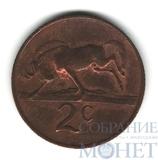 2 цента, 1970 г., ЮАР