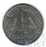 1/4 рупии, 1954 г., Индия