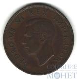1 пенни, 1942 г., ЮАР(Король Георг VI (1937 - 1952))
