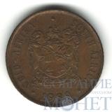 1 цент, 1989 г., ЮАР