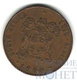 2 цента, 1990 г., ЮАР