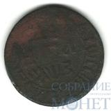 деньга, 1707 г.
