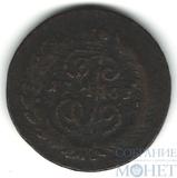"""2 копейки, 1763 г., СПМ, """"перечекан"""""""