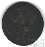 "2 копейки, 1758 г., гурт-""сетка"""