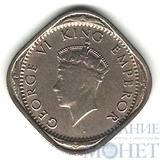2 анна, 1939 г., Индия(Король Георг VI)